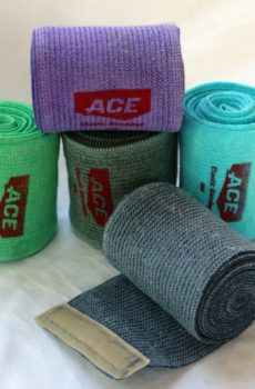 Ace bandages for use in tellington ttouch bodywraps
