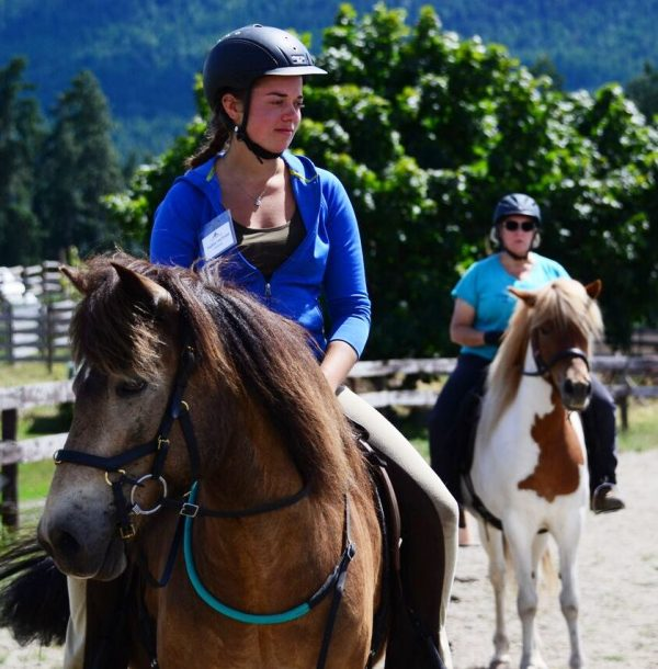 Connected Riding Lesson at Tellington TTouch Canada